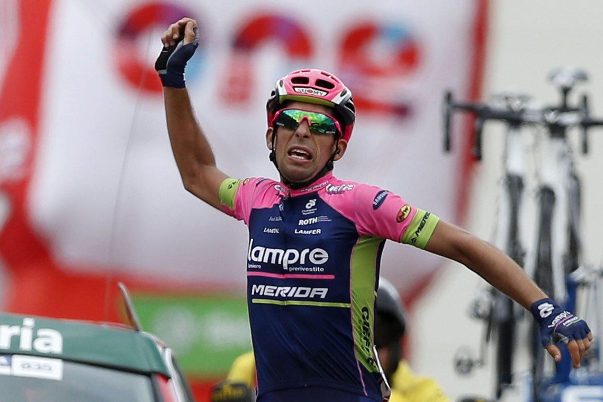 Oliveira gana en solitario la etapa 13 de la Vuelta, Aru sigue líder