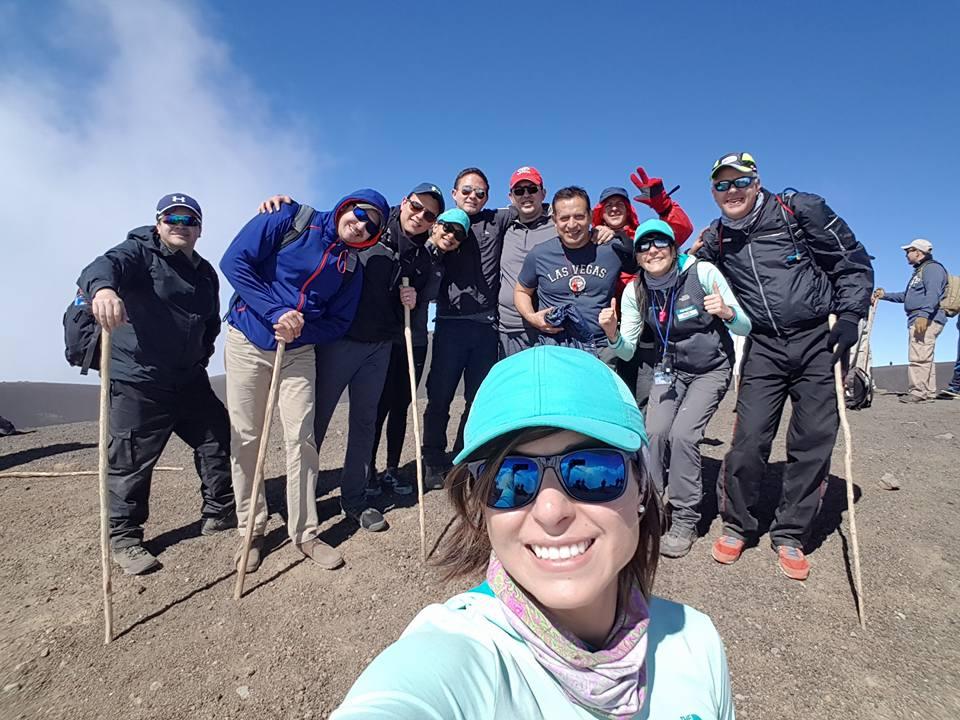 Andrea Cardona es una experimentada montañista guatemalteca. (Foto Prensa Libre: Facebook Andrea Cardona)
