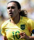 Marta Vieira da Silva obtuvo la nacionalidad sueca, pero quiere seguir jugando para Brasil. (Foto Prensa Libre).