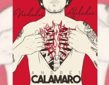 """Andrés Calamaro promociona """"Verdades afiladas"""", su reciente sencillo. (Foto Prensa Libre: Andrés Calamaro)"""