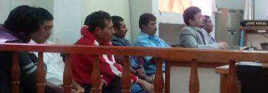 Tribunal condena a seis hombres que retuvieron a personal de Energuate en el 2014. (Foto Prensa Libre: Cortesía)