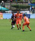 El Estadio Mario Sicay Paz, fue testigo del sexto empate de los naranjeros en nueve jornadas del Apertura 2018. (Foto Prensa Libre: Carlos Paredes)