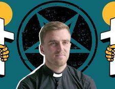 Atkins creció en una familia cristiana pero en su adolescencia se dedicó al satanismo. REBECCA HENDIN / GETTY / BBC THREE