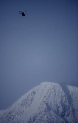 El derretimiento de un glaciar del Kebnekaise mostró una cumbre desconocida. (AFP)
