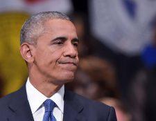 El presidente de EE. UU., Barack Obama, pronuncia su discurso en el homenaje a los policías asesinados en Dallas. (Foto Prensa Libre: AFP).