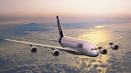 Para Brian Kelly, el Airbus 380, uno de los aviones con más capacidad de pasajeros del mundo, es uno de los que menos ruido hace al volar. GETTY IMAGES