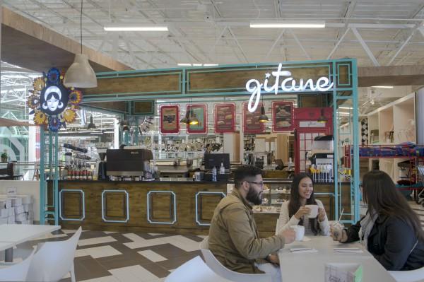 En el centro comercial Peri Roosevelt, Gitane cuenta con otra franquicias. (Foto, Prensa Libre:  Inversiones Moka).