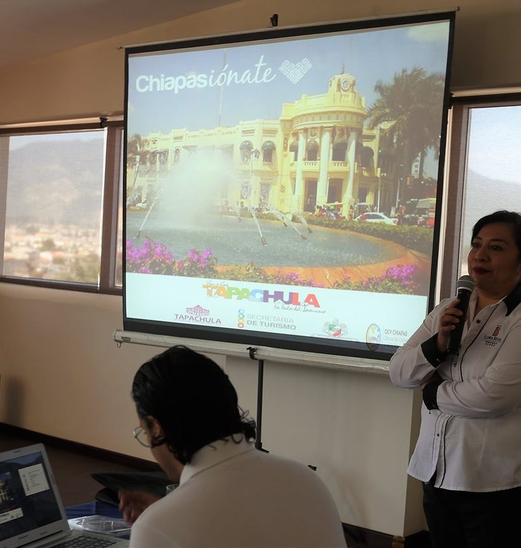 Asociación Mexicana de Hoteles invita a los quetzaltecos para que visiten Tapachula y Comitán de Domínguez. (Foto Prensa Libre: Fred Rivera)