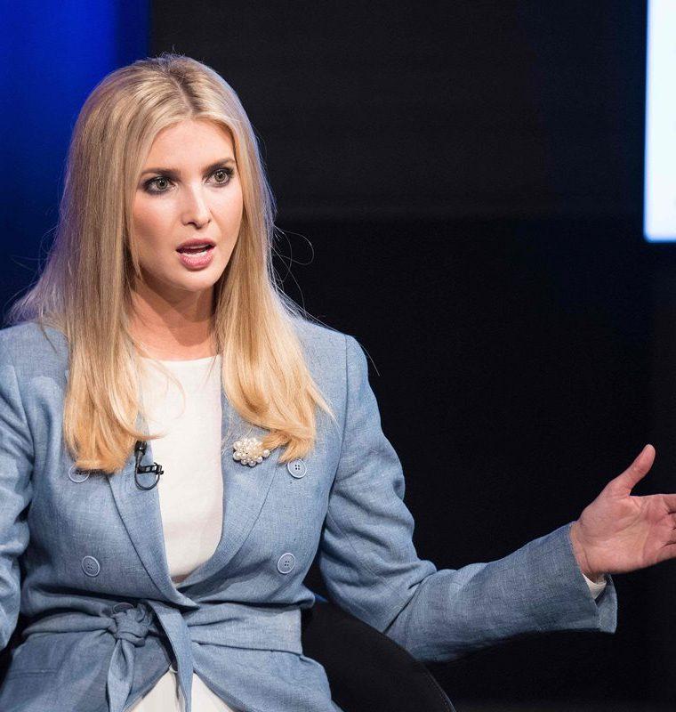 """""""No, no creo que los medios sean el enemigo del pueblo"""", afirmó Ivanka Trump. (AFP)"""