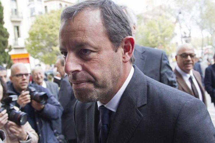 Sandro Rosell, expresidente del Barcelona podría purgar 11 años de prisión por blanqueo de dinero