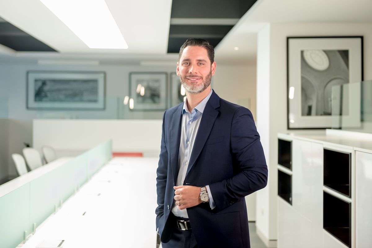 Federico Bolaños Coloma, fue nombrado como gerente general y cuenta con más de 15 años de experiencia en el sector financiero. (Foto Prensa Libre: Cortesía)