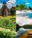 Tikal, Playa Blanca, Semuc Champey y Laguna Brava son destinos turísticos que puede visitar en Guatemala. (Foto Prensa Libre: cortesía Inguat)