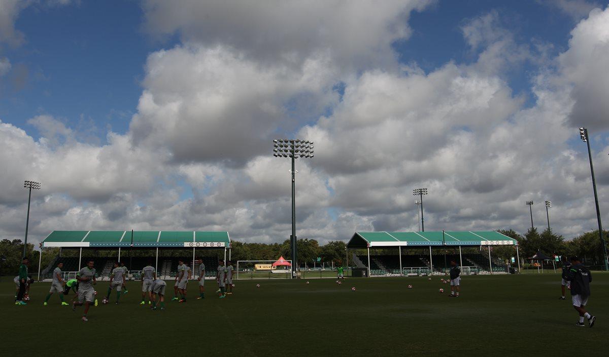 Mantienen el partido Panamá-Bolivia a pesar de amenaza de tormenta tropical