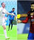 Emiliano López y Hamilton López esperan disputar el clásico 299. (Foto Prensa Libre: Hemeroteca PL)