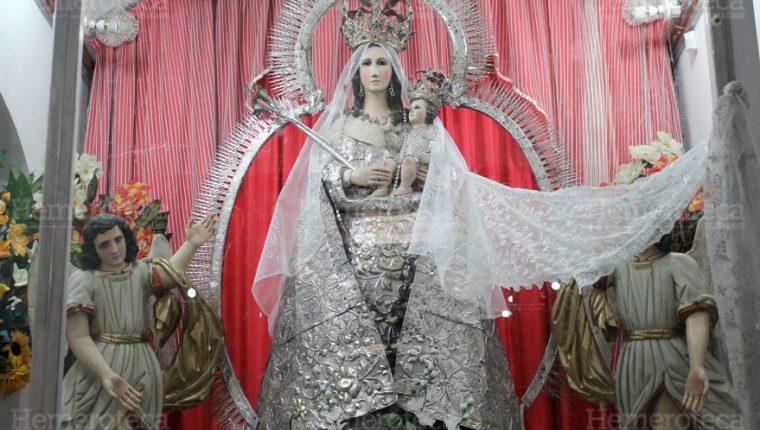 Virgen de Chiantla, Huehuetenango. (Foto: Hemeroteca PL)
