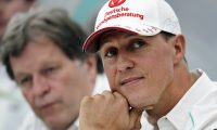 FILE - In this Thursday, Oct. 4, 2012 file photo, former Mercedes F1 driver Michael Schumacher of Germany attends a news conference to announce his retirement from Formula One at the end of 2012 in Suzuka, Japan.The condition of Michael Schumacherâ??s health will remain closely guarded among family and close associates, the former Formula One championâ??s manager Sabine Kehm said Saturday Dec. 17, 2016. (AP Photo/Shizuo Kambayashi, File)