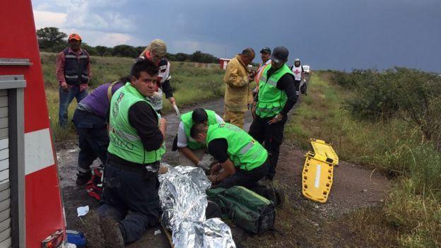 Todos los ocupantes de la aeronave lograron sobrevivir al accidente. (Oficina Civil de Proteccion)