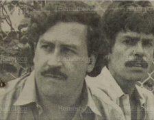 Pablo Escobar durante un motín carcelario en julio de 1992. (Foto Prensa Libre: Hemeroteca).