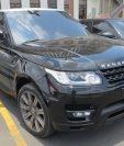 La camioneta está valorada por el Ministerio Público en Q1 millón. (Foto Prensa Libre: MP)