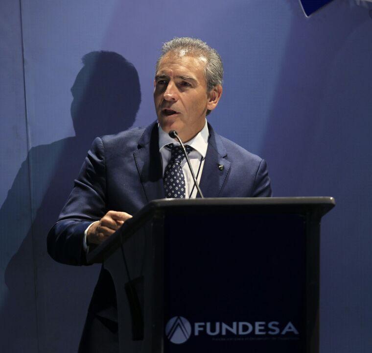 El presidente de Fundesa, Felipe Bosch. (Foto Prensa Libre: Carlos Hernández).