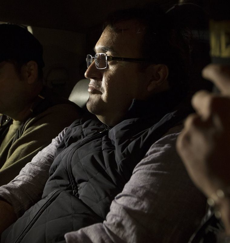 Javier Duarte, exgobernador de Veracruz, México, fue capturado en Panajachel, Sololá, la noche del sábado. Luego fue trasladado a la capital. (Foto, Prensa Libre: AP).