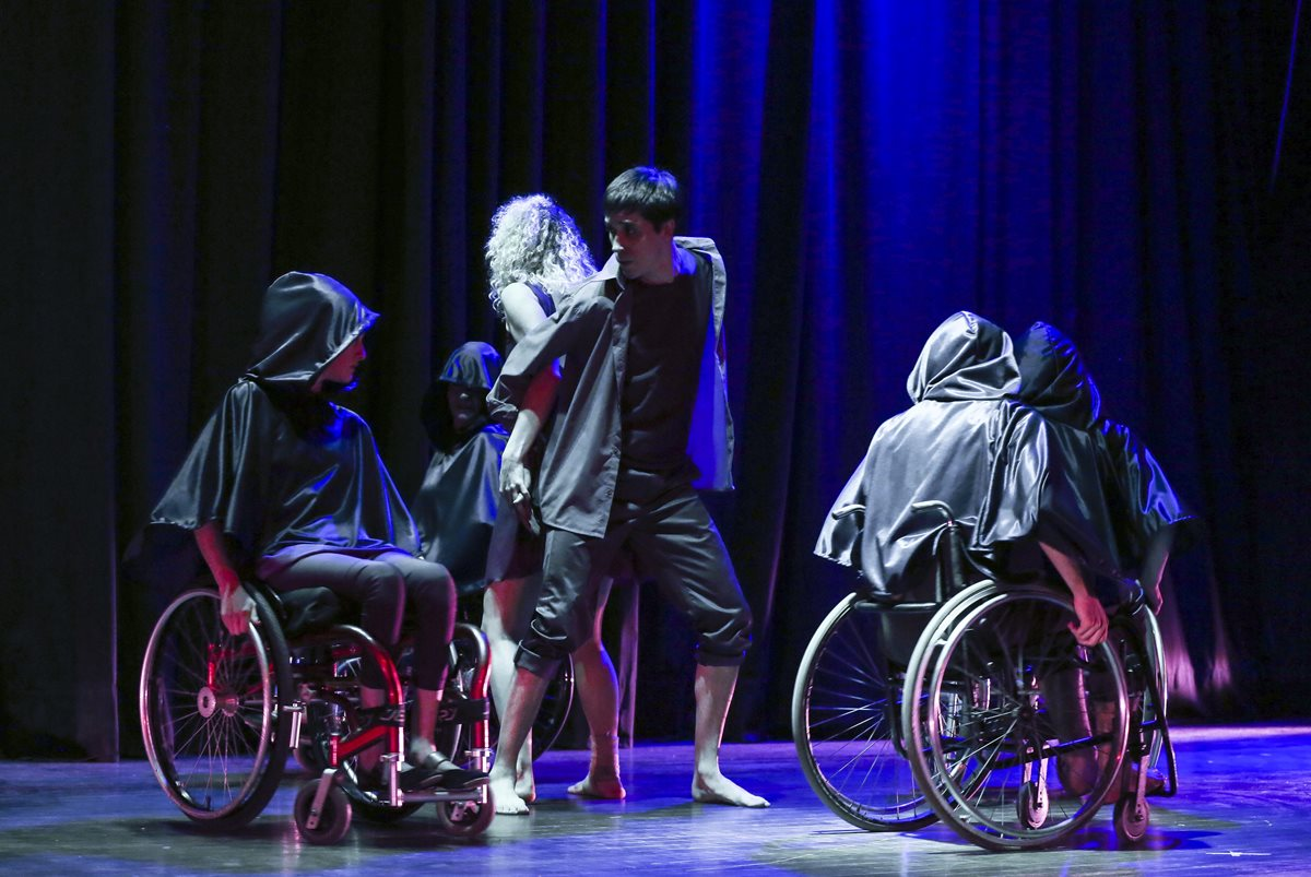 Baile que no tiene barreras físicas