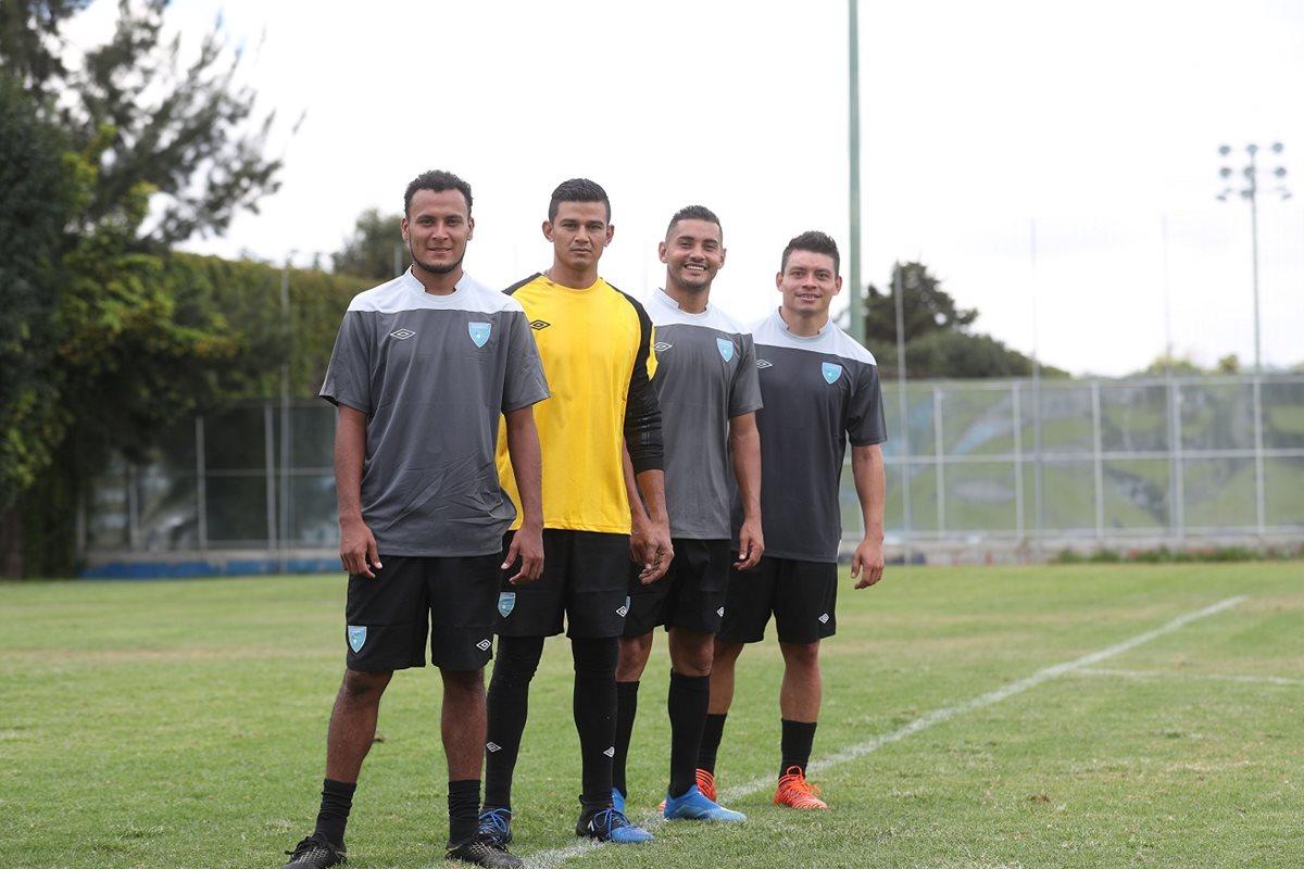 Los seleccionados peteneros esperan tener continuidad con la Selección Nacional. (Foto Prensa Libre: Edwin Fajardo)