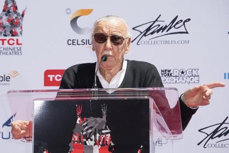 Stan Lee, leyenda de los cómics, falleció este lunes a los 95 años. (Foto Prensa Libre: HemerotecaPL)