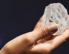 Es el mayor diamante que se ha encontrado en más de 100 años.