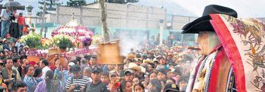 Maximón, deidad venerada en Santiago Atitlán, Sololá, Guatemala. (Foto: Hemeroteca PL)