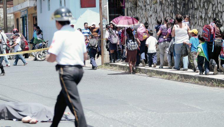 Varios hechos  de violencia se registraron este domingo en la capital y municipios aledaños( Foto Prensa Libre: Hemeroteca PL)