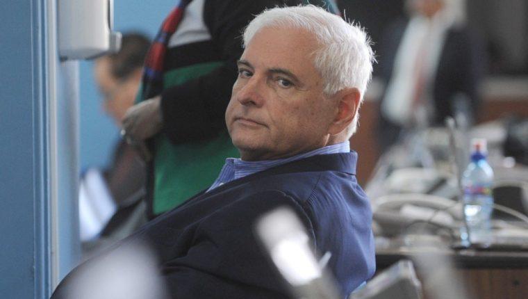 El expresidente de Panamá Ricardo Martinelli, acusado de espiar opositores y de corrupción. (Foto Prensa Libre: AFP).