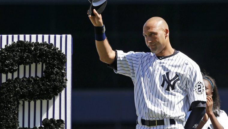 Derek Jeter volverá al Yankee Stadium para un homenaje especial. (Foto Prensa Libre: AP)