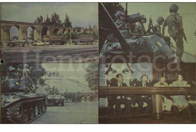 Detalle de la portada de Prensa Libre del 10 de mayo de 1989 informando sobre la intentona de golpe de Estado en contra del presidente Vinicio Cerezo. (Foto: Hemeroteca PL)