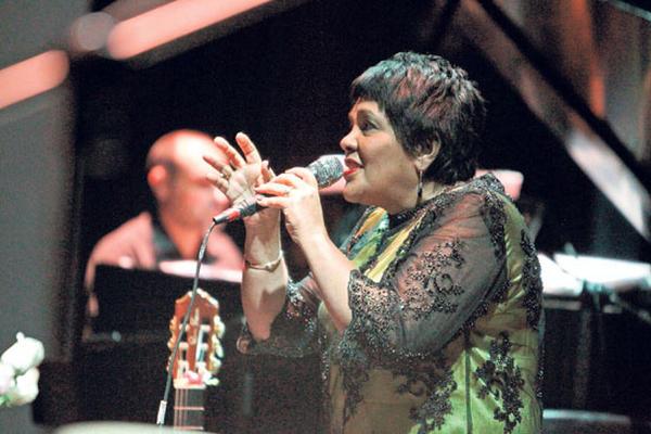 Rosa Passos se presentó en el Festival Internacional de Cultura Paiz.