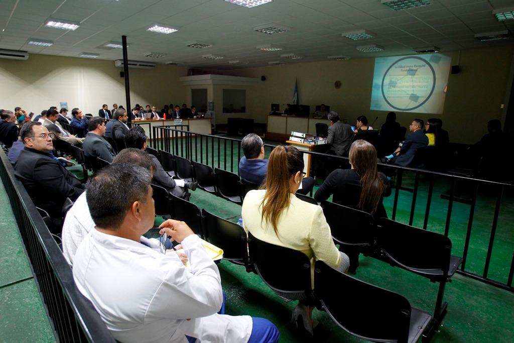 Negociantes de la Salud: Jueza envía a juicio a 18 implicados