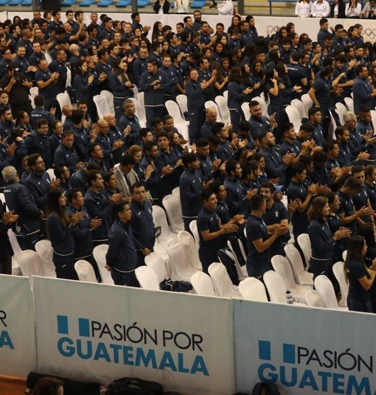 428 atletas conforman la delegación de Guatemala que competirá en los Juegos Centroamericanos y del Caribe de Barranquilla 2018. (Foto Prensa Libre: Esbin García)