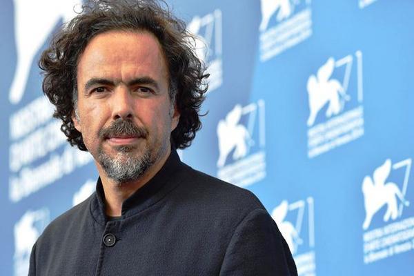 El director mexicano Alejandro González Iñárritu durante la inauguración del Festival Internacional de Cine de Venecia. (Foto Prensa Libre: EFE)