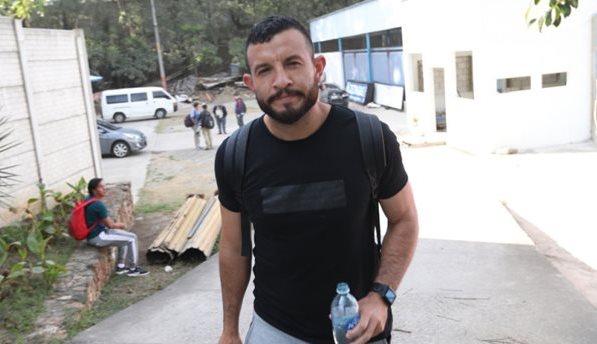 Hamilton López lamentó la situación de John Méndez y manifestó su apoyo. (Foto Prensa Libre: Jorge Ovalle)