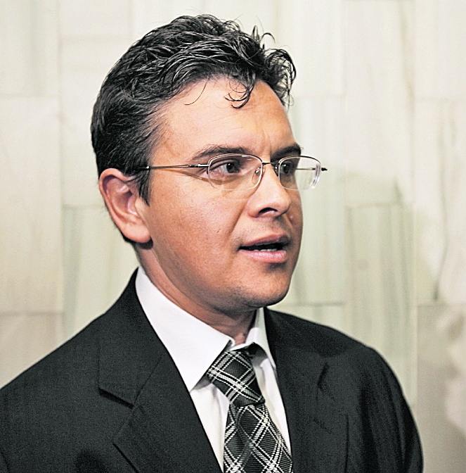 Juan Rodolfo Perez, abogado d Diarion Modernos, S.A.. foto Daniel Herrera
