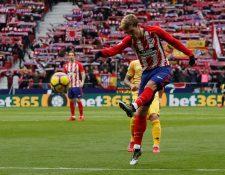 El rumor del fichaje de Griezmann con el Barcelona se ha esparcido durante los últimos meses. (Foto Prensa Libre: EFE)