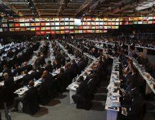 El Congreso de la Fifa se llevó a cabo en Baréin. Guatemala estuvo en la agenda de la máxima entidad del futbol. (Foto Prensa Libre: AFP)