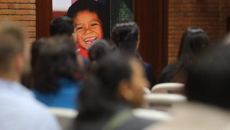 Una herramienta que permite identificar a los actores que luchan contra la desnutrición se presentó este jueves. (Foto Prensa Libre: Érick Ávila)