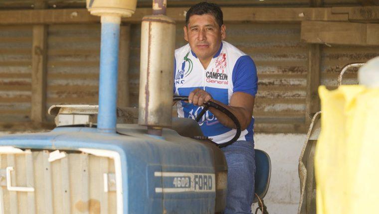 El exciclista guatemalteco Luis Rodolfo El tractorcito Muj, quien en 1997 ganó la Vuelta a Guatemala, se siente nostálgico cada vez que llegua la hora del giro nacional (Foto Prensa Libre: Norvin Mendoza)