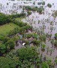 Las lluvias de las últimas horas han ocasionado daños en viviendas de Sipacapa y Nueva Concepción, Escuintla. (Foto Prensa Libre: Conred)