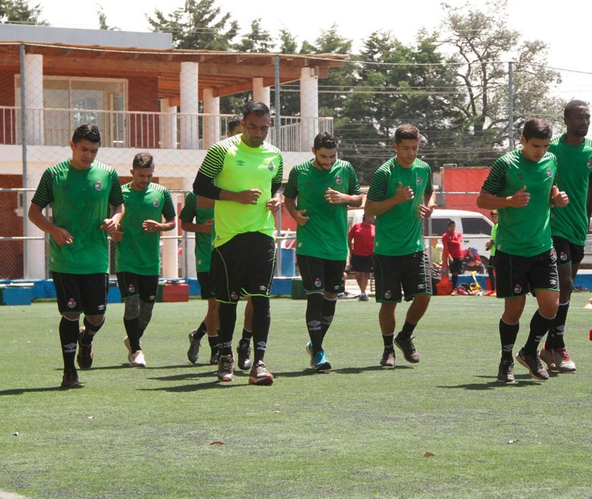 Municipal realiza su pretemporada de cara al torneo Apertura 2018, que inicia a finales de julio. (Foto Prensa Libre: Cortesía Municipal)