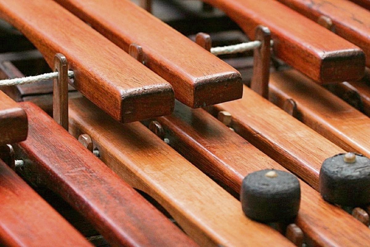 La primera marimba de doble teclado o cromática fue diseñada por Sebastián Hurtado y Julián Paniagua Martínez, en Quetzaltenango, en 1894. Foto Prensa Libre: Edwin Castro.