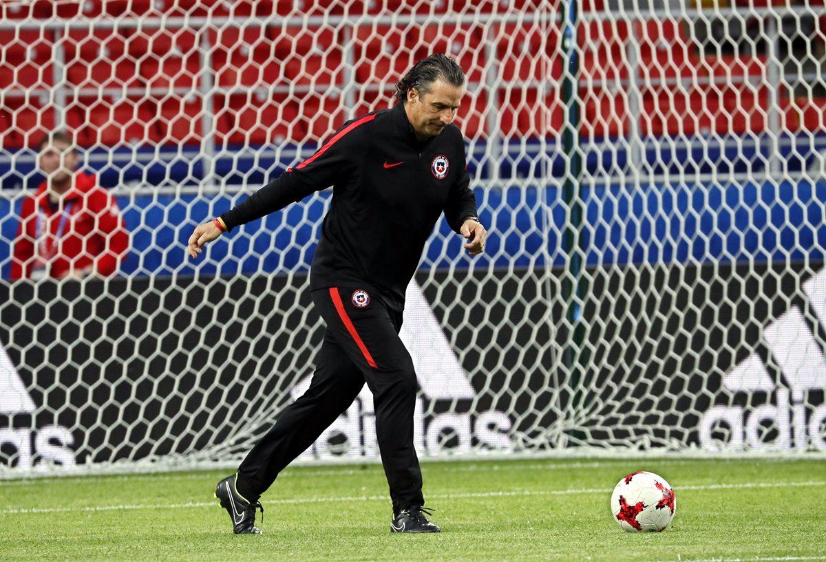 Pizzi no decidirá si juega Alexis hasta poco antes del partido contra Camerún