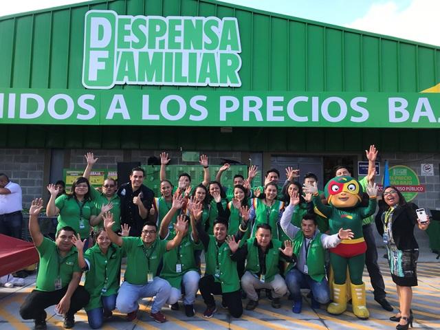 Despensa Familiar inaugura tienda en Villa Nueva