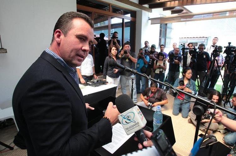 Alejandro Sinibaldi, prófugo de la justicia. (Foto Prensa Libre: Hemeroteca PL)